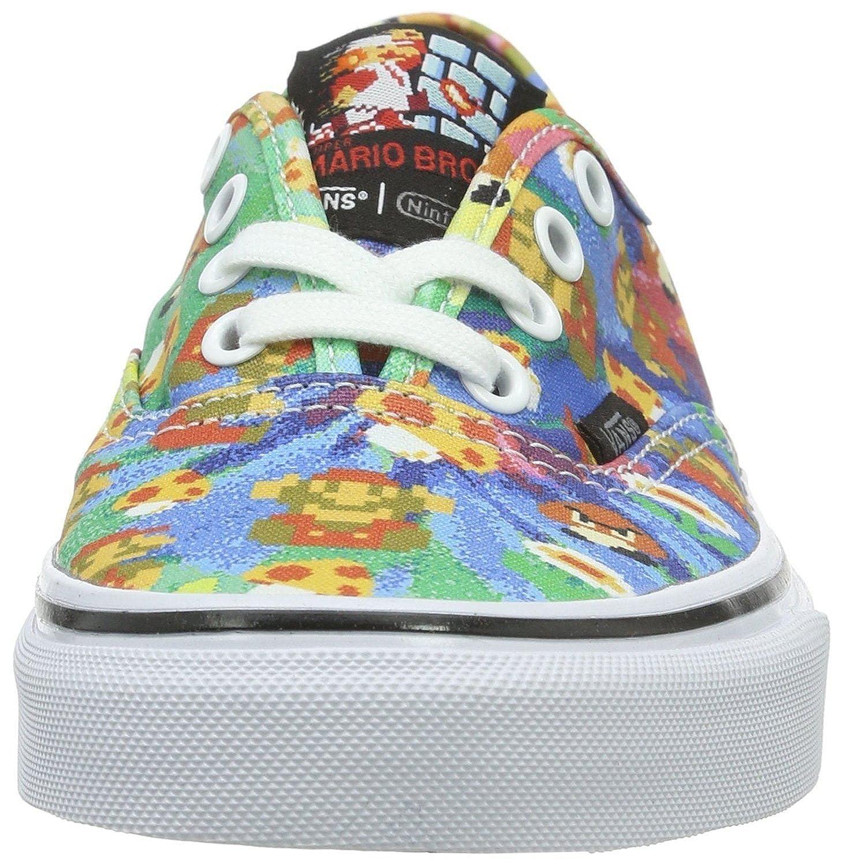 ff22efe867 Vans Authentic Nintendo Super Mario Canvas Trainers Shoes-5  Amazon.co.uk   Shoes   Bags