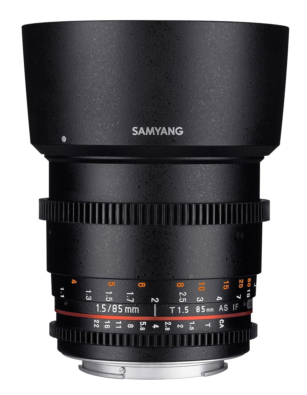 Samyang F Objetivo para vídeo VDSLR para Sony E distancia focal fija