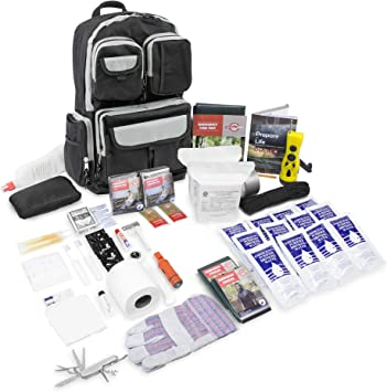 2-Day Food//Water Light Supply Survival Emergency Bug Out Bag Car Kit Doomsday