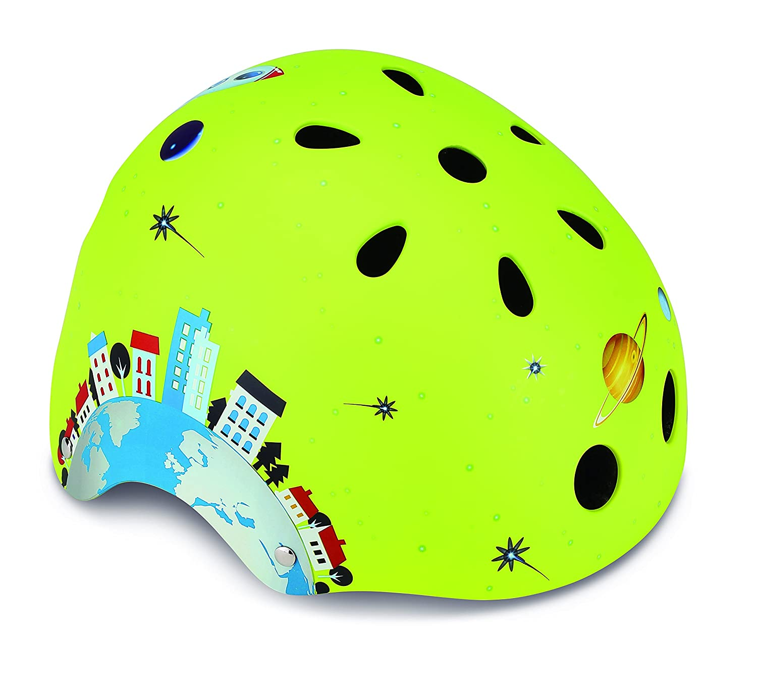 Globber Enfants Junior, Rocket S (51–54 cm) Casque, Vert, XS/S Rocket S (51-54 cm) Casque GLOOR|#Globber 500-005