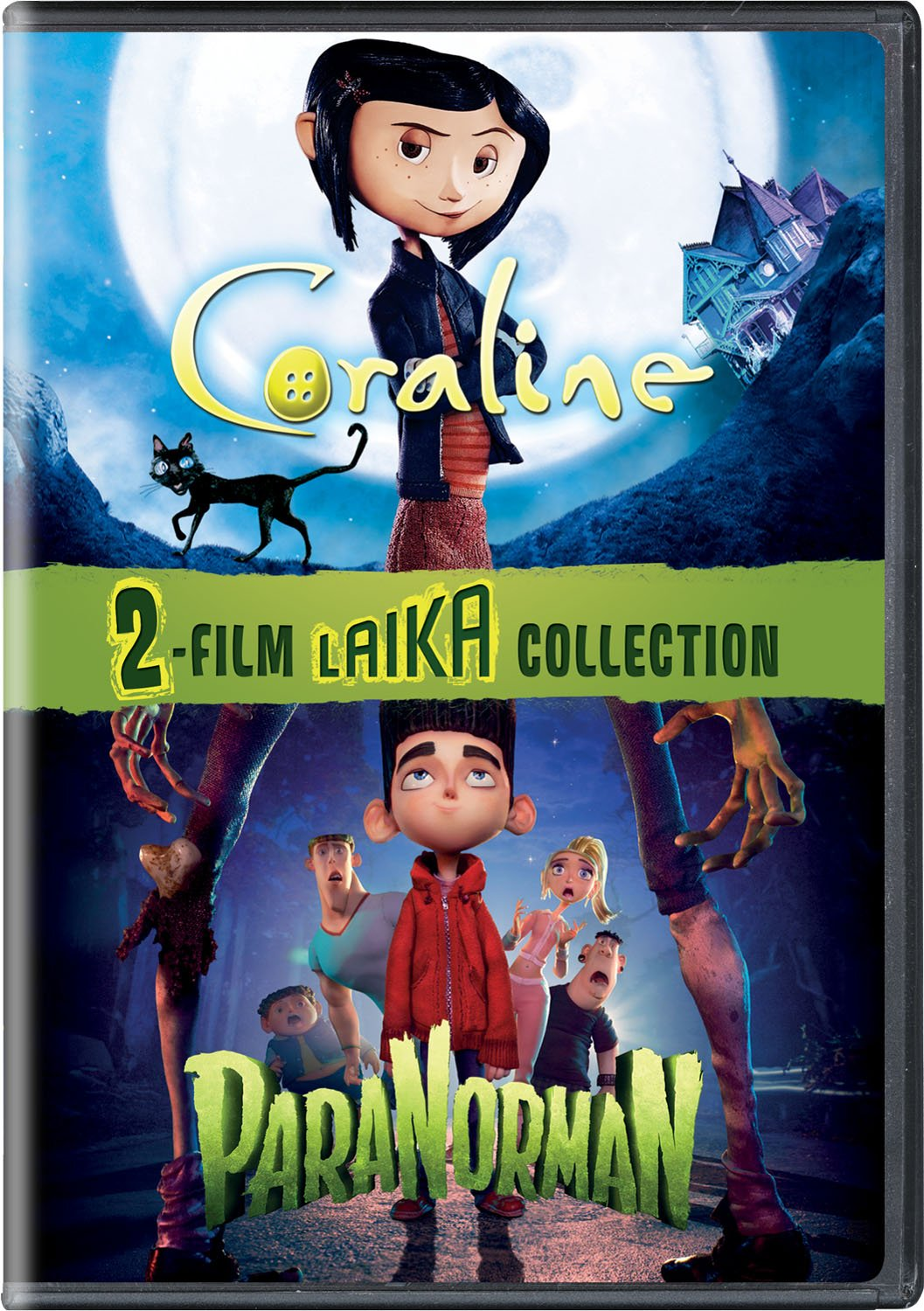 Amazon Com Coraline Paranorman 2 Film Laika Collection Dakota Fanning Kodi Smit Mcphee Teri Hatcher Tucker Albrizzi Jennifer Saunders Anna Kendrick Dawn French Casey Affleck Keith David Christopher Mintz Plasse John Hodgman Leslie Mann