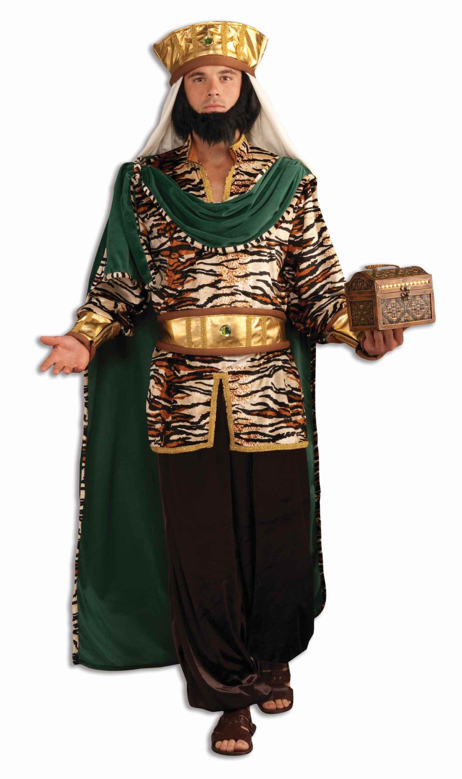 Forum Novelties Men's Biblical Emerald Wiseman Adult Costume, Multicolor, Standard