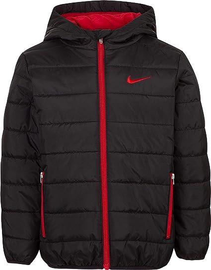 bd1b5ddb15e0 Amazon.com  Nike Kids Boy s Quilted Jacket (Little Kids)  Sports ...
