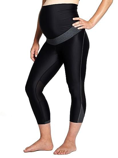 2ad3a21bef09b0 SpeedBump High Performance Maternity Exercise Leggings: Amazon.co.uk ...
