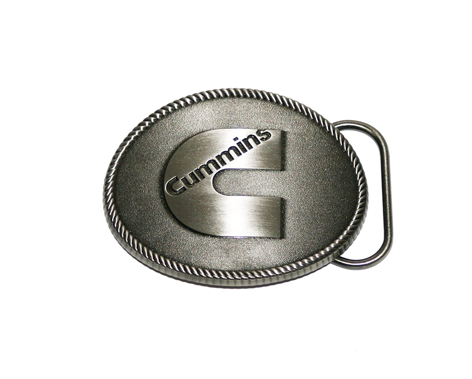 Cummins Diesel Heavy Duty Cowboy C Logo Belt Buckle BDA