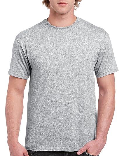 Gildan - Camiseta básica de Manga Corta Modelo Ultra Cotton para Hombre Caballero: Amazon.es: Ropa y accesorios