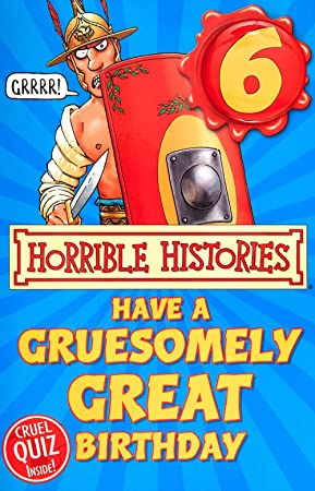 6 Today Horrible Histories Birthday Card Amazon Office
