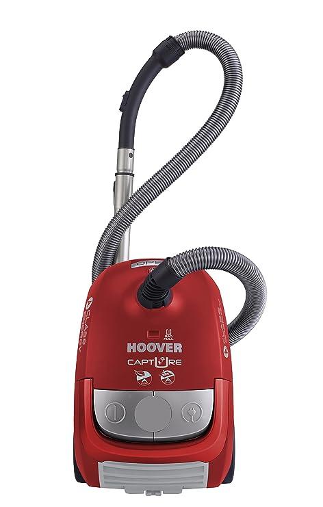 Hoover Capture CP 31 - Aspirador con bolsa, clase de eficiencia energética A, sonoridad 85 dBA, asa de transporte