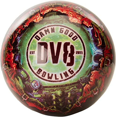 Columbia 300 White Dot Scarlet Bowling Ball