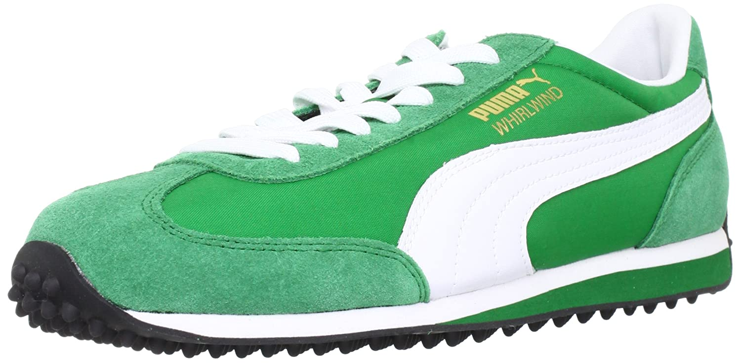 Puma Whirlwind Classic 351293, Herren Sneaker, Grün (Amazon-White 41), EU 46 (UK 11) (US 12): Amazon.es: Zapatos y complementos