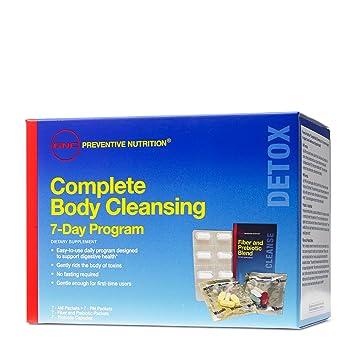Amazon.com: GNC limpieza del organismo completa de 7 ...