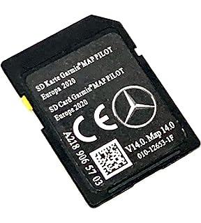 Tarjeta SD GPS Mercedes Garmin Map Pilot Europe 2020: Amazon.es: Electrónica