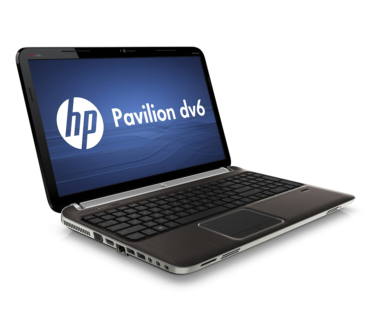 HP Pavilion DV6-6002 15.6 inch Laptop (AMD Phenom Quad core P960 Processor,  4GB RAM, 750GB HDD, Windows 7 Home Premium) - Aluminium: Amazon.co.uk:  Computers ...