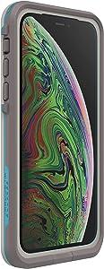 Lifeproof FRĒ SERIES Waterproof Case for iPhone Xs - Retail Packaging - BODY SURF (CEMENT/GARGOYLE/HAWAIIAN OCEAN)