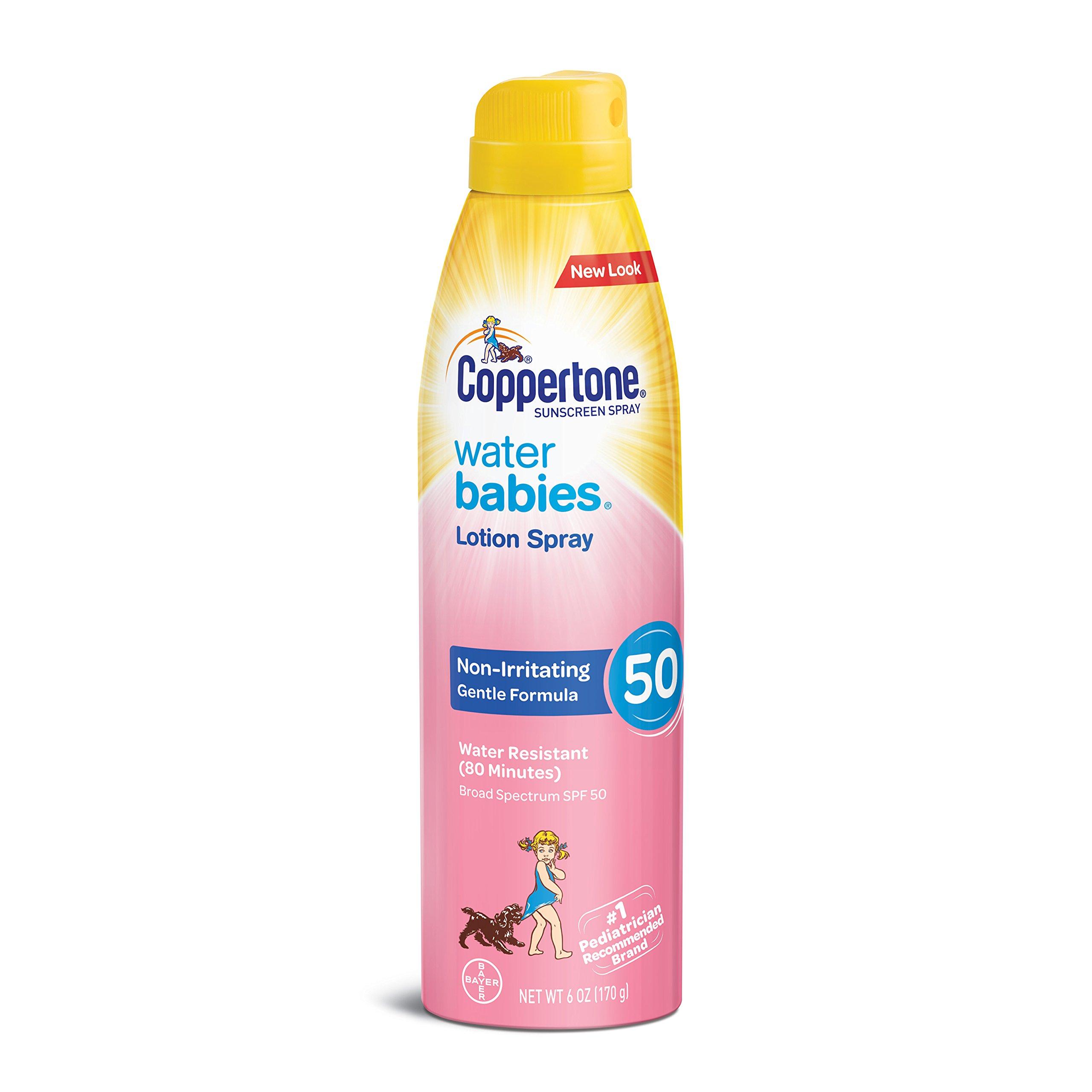Amazon Com Coppertone Water Babies Spf 50 Sunscreen