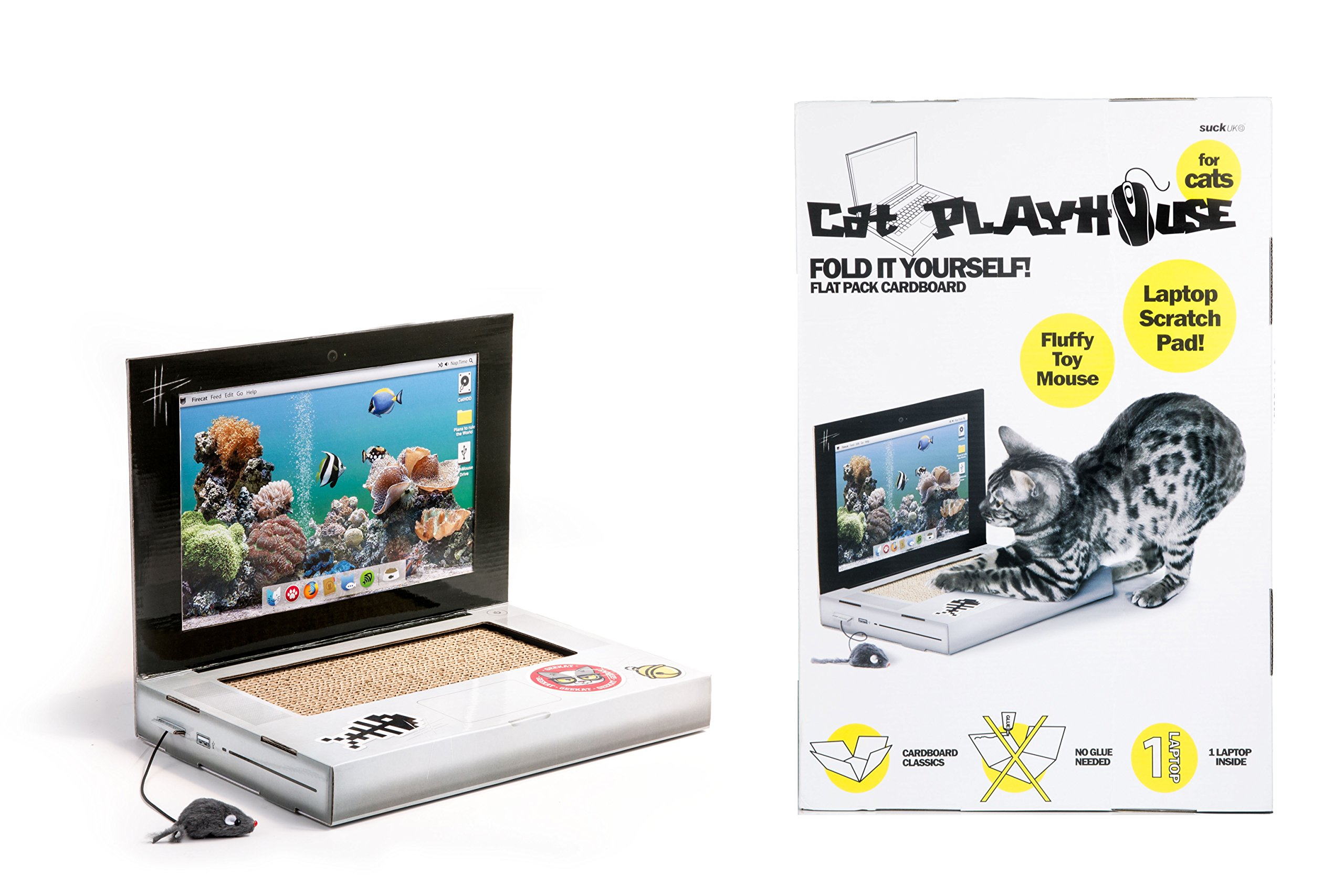 SUCK UK Cat Playhouse Series Laptop