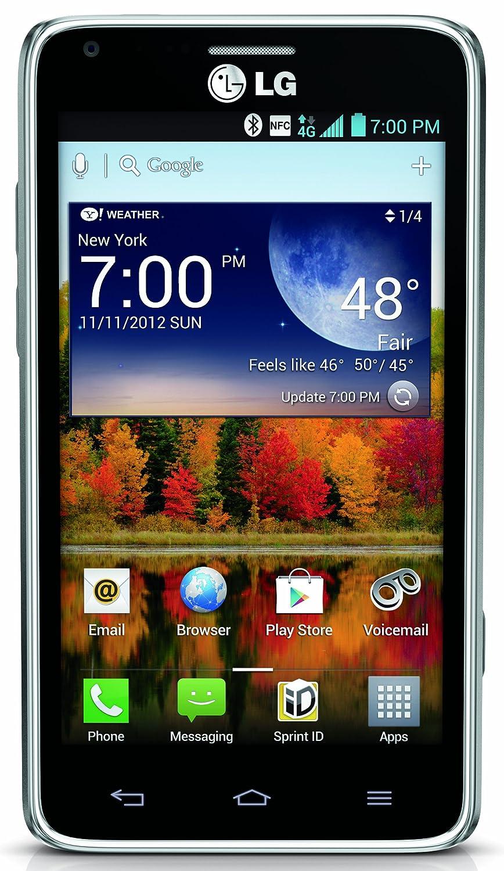 amazon com lg mach gray 8gb sprint cell phones u0026 accessories