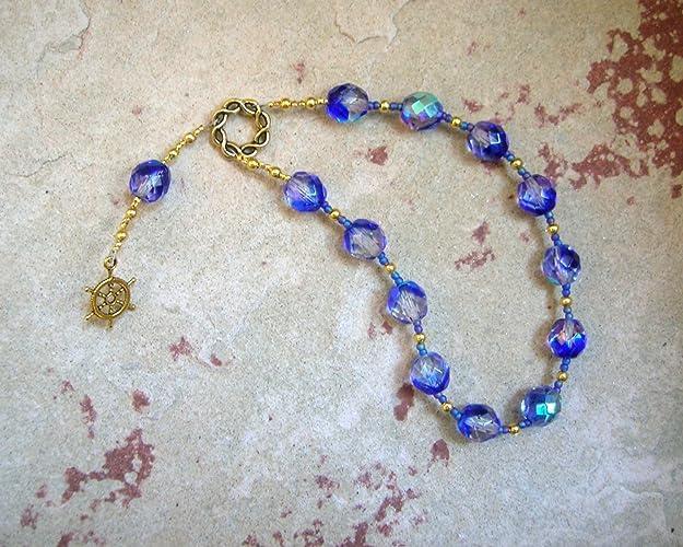 Amazon Tyche Fortune Pocket Prayer Beads Greek Goddess Of