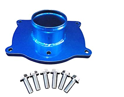 Upper Intake Manifold Plenum 6.5l Turbo Diesel Chevy GMC (Candy Blue)