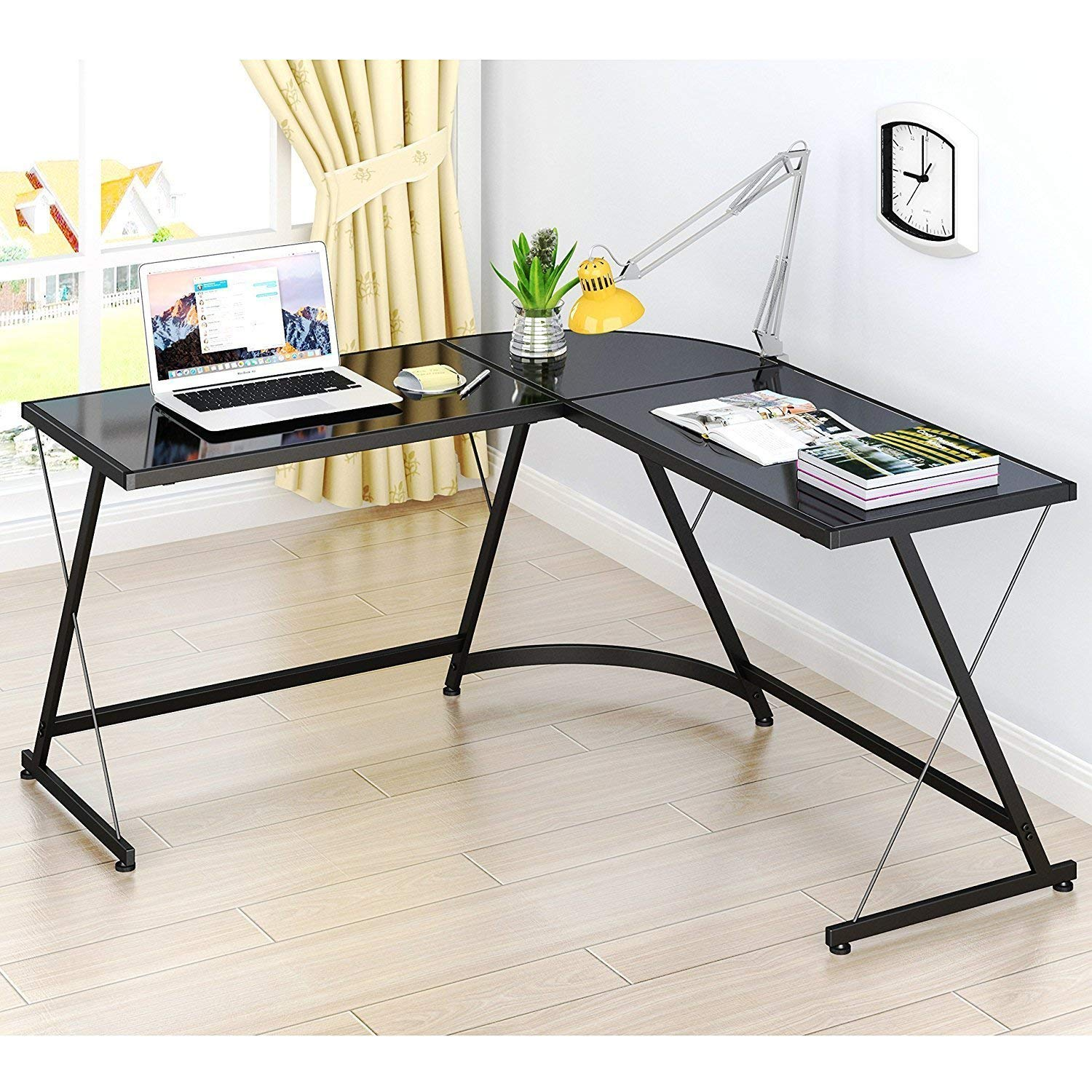 SHW Big L Shaped Desk