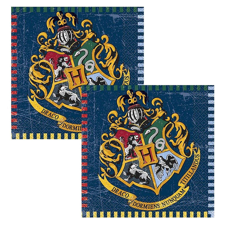 Harry Potter Party Pack Kinder Geburtstag Geschirr Kit f/ür 16 Teller Tassen Servietten Tischdecke und kostenlose Baloons