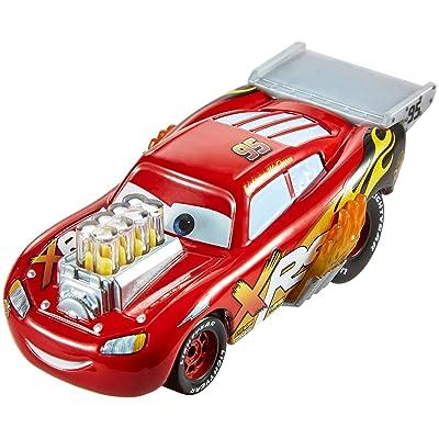 Disney Pixar Cars XRS Drag Racing Lightning McQueen: Toys & Games