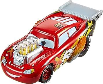 Disney Cars Drag Racing, Macchinina Saetta McQueen Die Cast