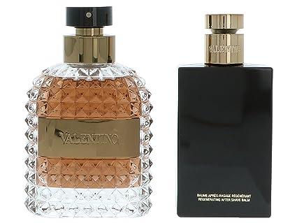 Valentino Contains And Toilette Spray 100 Set Eau De Uomo After Ml nvNm80w