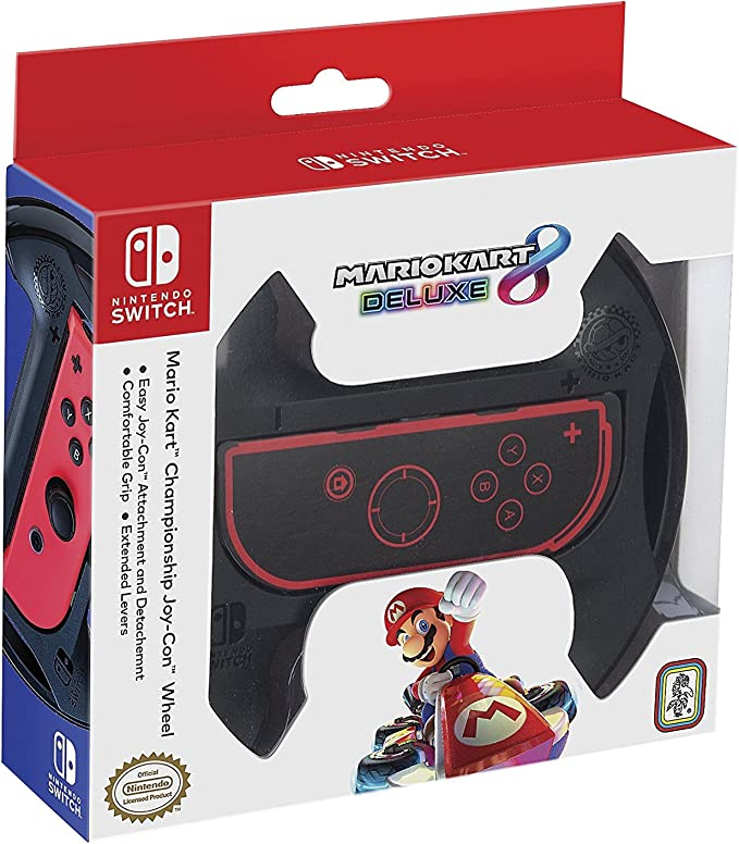 Ardistel - Joy-Con Wheel Mario Kart Championship M1 (Nintendo Switch): Amazon.es: Videojuegos