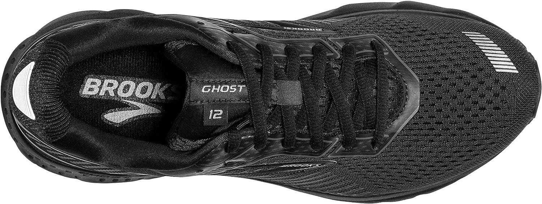 Brooks Ghost 12 Femme Nero Black Grey 040