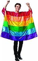 Rasta Imposta Men's Flag Tunic Rainbow