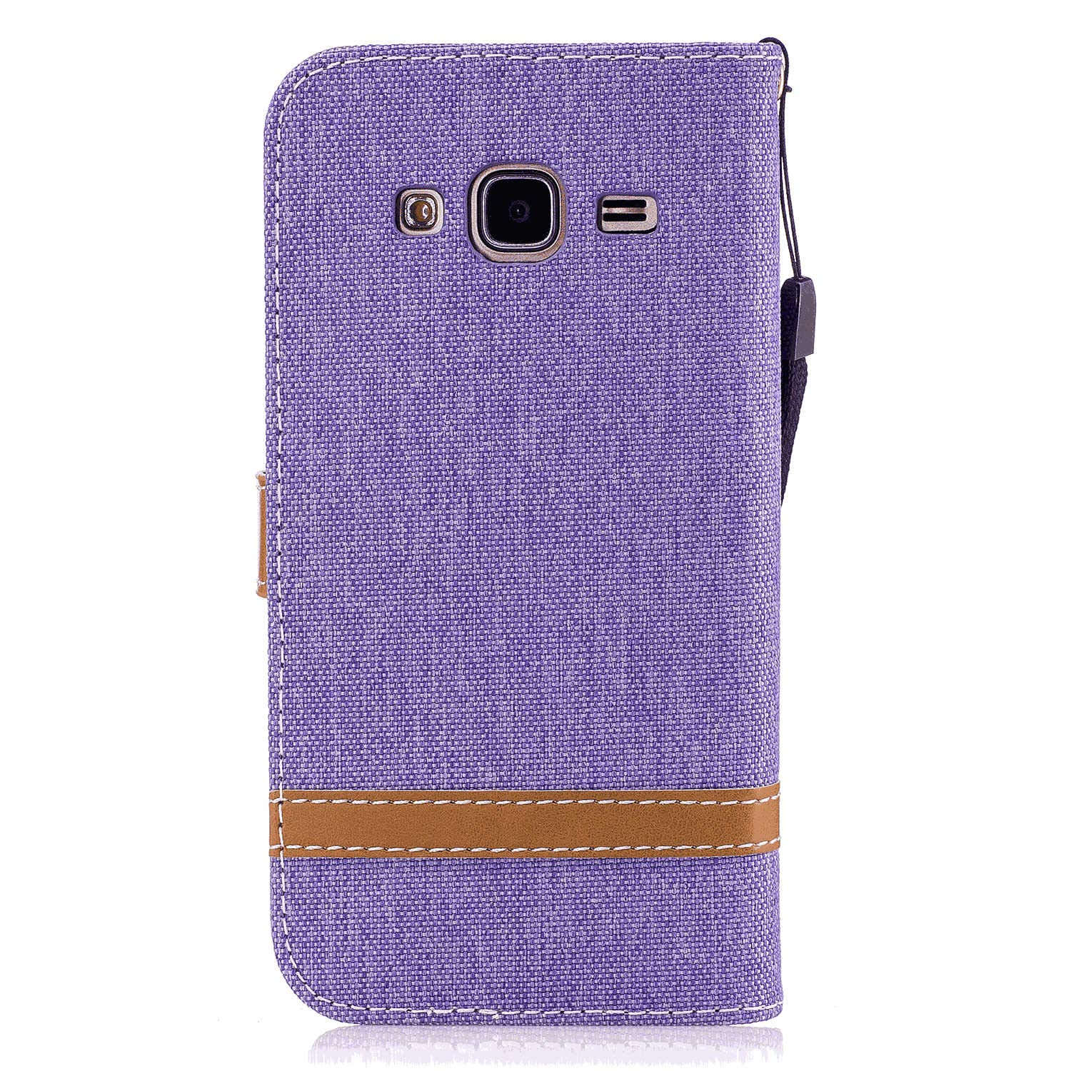 Cover for Samsung Galaxy A10E Leather Mobile Phone case Kickstand Extra-Protective Business Card Holders with Free Waterproof-Bag Gripping Samsung Galaxy A10E Flip Case