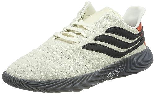adidas Sobakov, Zapatillas de Gimnasia para Hombre, Blanco Off White/Core Black/Raw Amber, 44 2/3 EU: Amazon.es: Zapatos y complementos