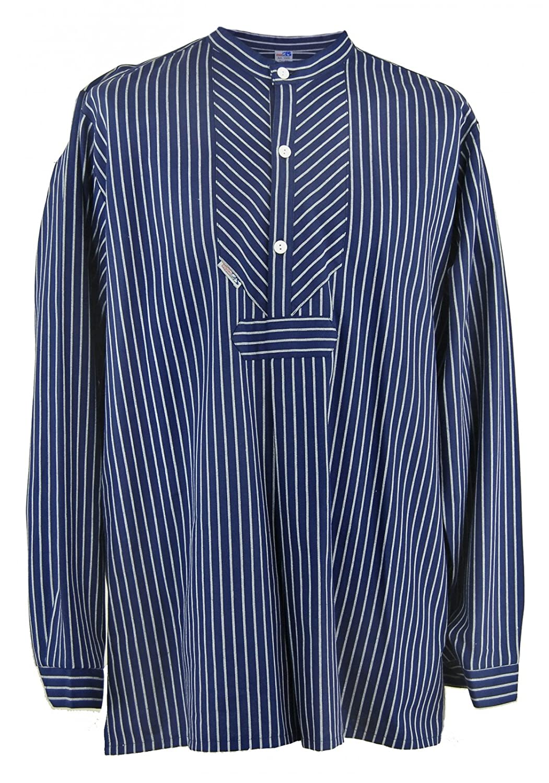 modAS Fischerhemd Original schmal gestreift Finkenwerder