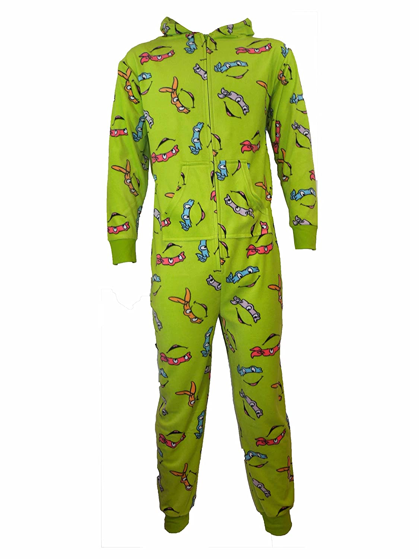 UWear **Great Value** Adults Ninja Turtles Cowabunga Dude Onesie