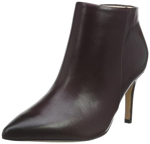 Clarks Dinah Pixie, Botines para Mujer, Morado (Aubergine Leather), 37.5 EU: Amazon.es: Zapatos y complementos