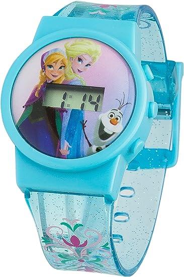 Frozen Reloj Digital para Nios de Cuarzo con Correa en plástico FROZ32: Amazon.es: Relojes