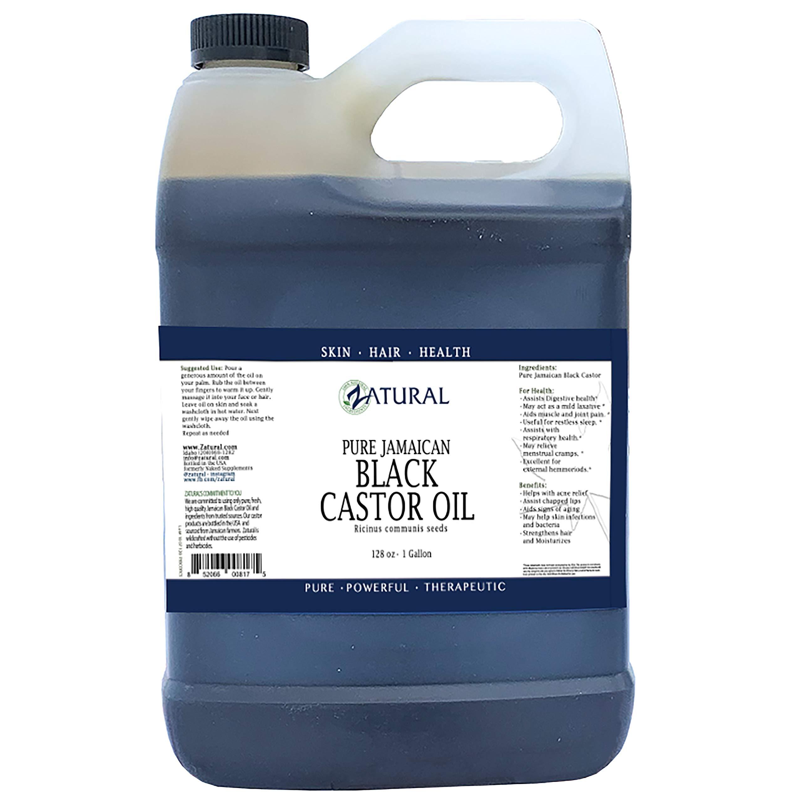Black Castor Oil_100% Pure Tropic Jamaican Black Castor Oil (1 Gallon)