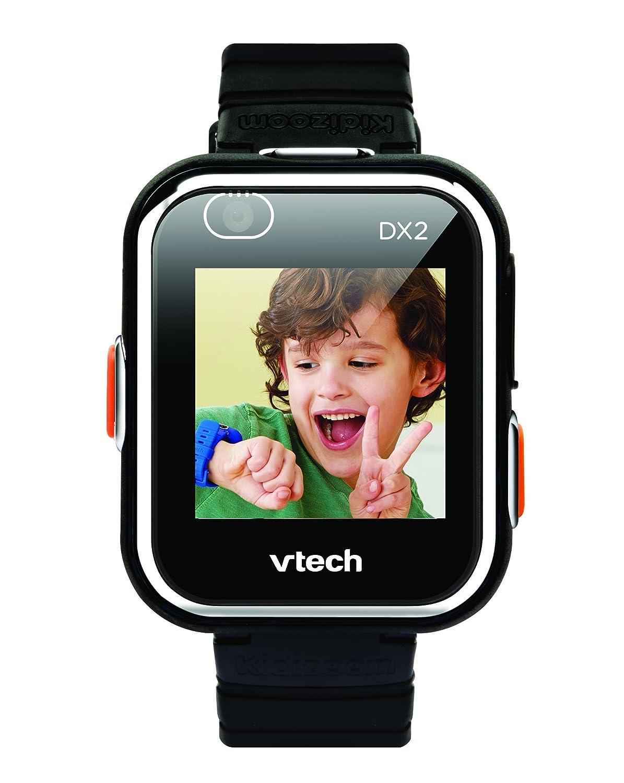 VTech- Kidizoom Smartwatch Connect DX2 Noire Reloj, Color Negro (193865)