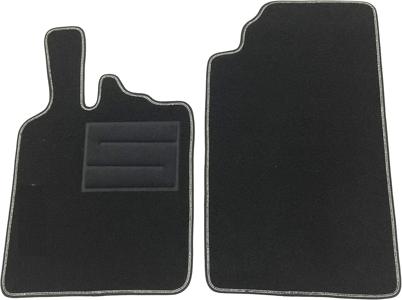 ASC tappetini per for Two W451 2007 2014 tappeti con Logo e battitacco 1 Logo