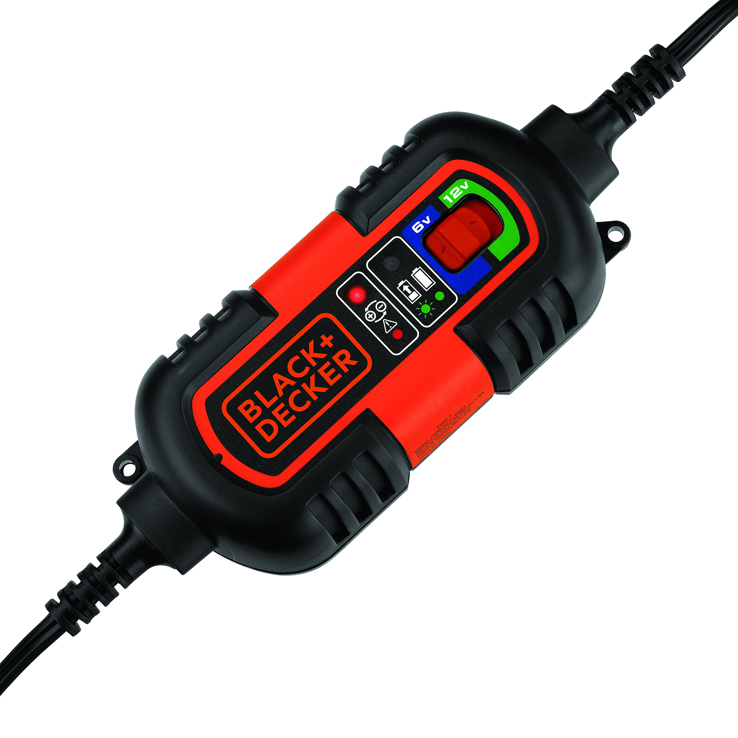 BLACK+DECKER BM3B 6V and 12V Automatic Battery Charger/Maintainer