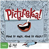 Akrobo Pictureka Find It Fast and First Family Toy Strategic Board Game for Multi Player (Multicolour)