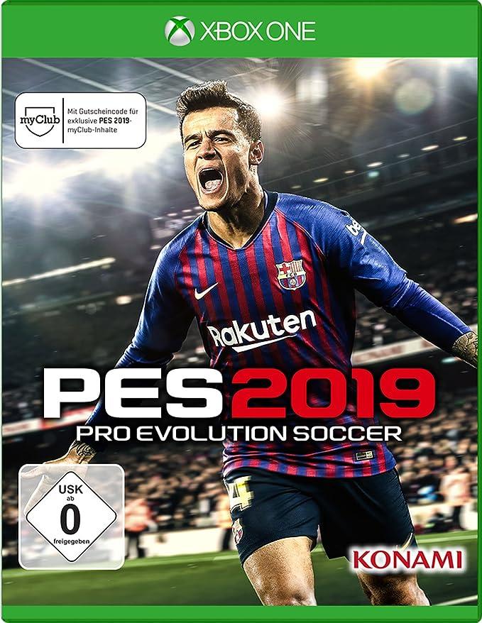 PES 2019 - Xbox One [Importación alemana]: Amazon.es: Videojuegos