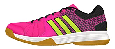 adidas Ligra 4 W - Chaussures de Volley-Ball pour Femme, Rose,1/3, Taille: 41,1/3