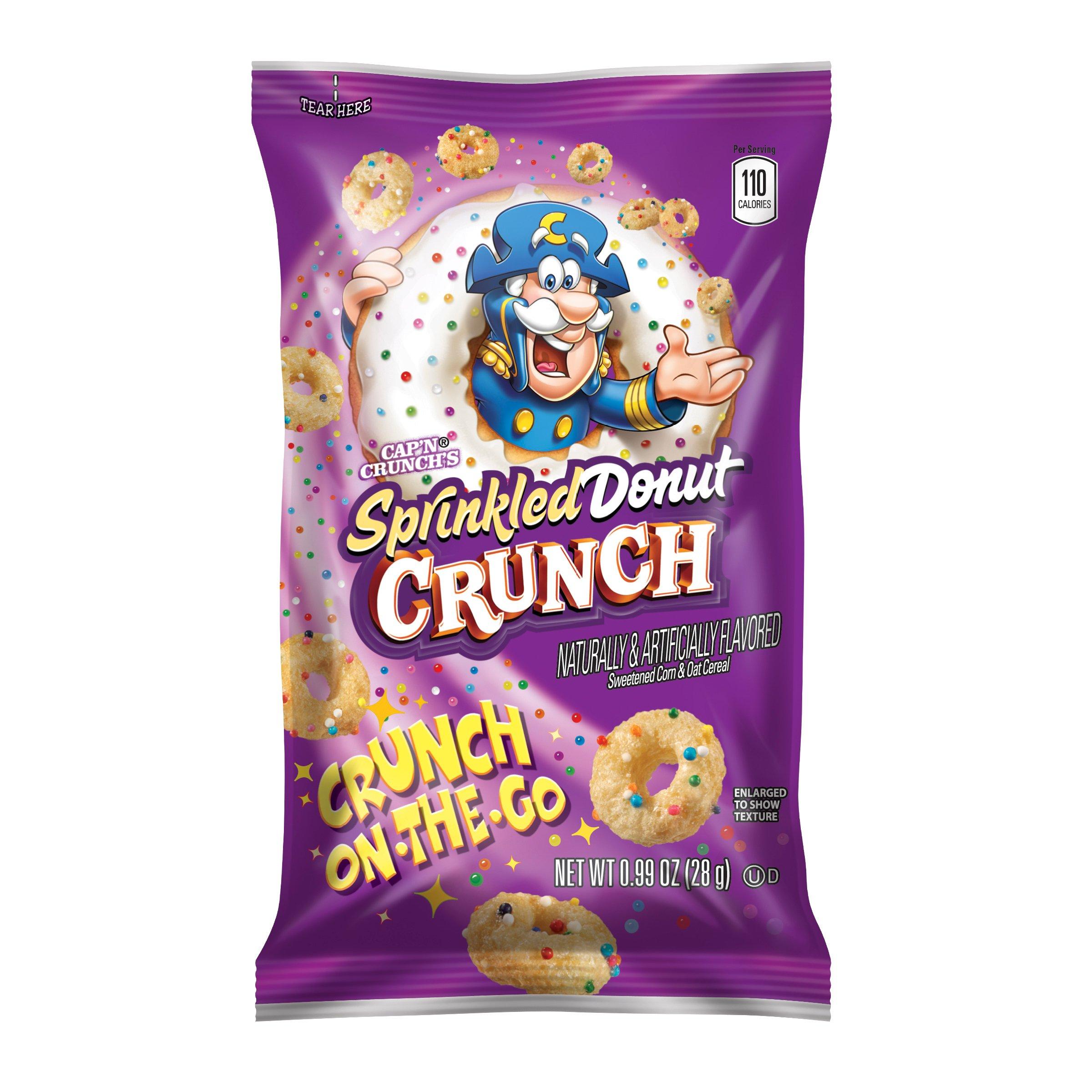Amazon.com: Quaker, Cap'n Crunch's Sprinkled Donut Crunch
