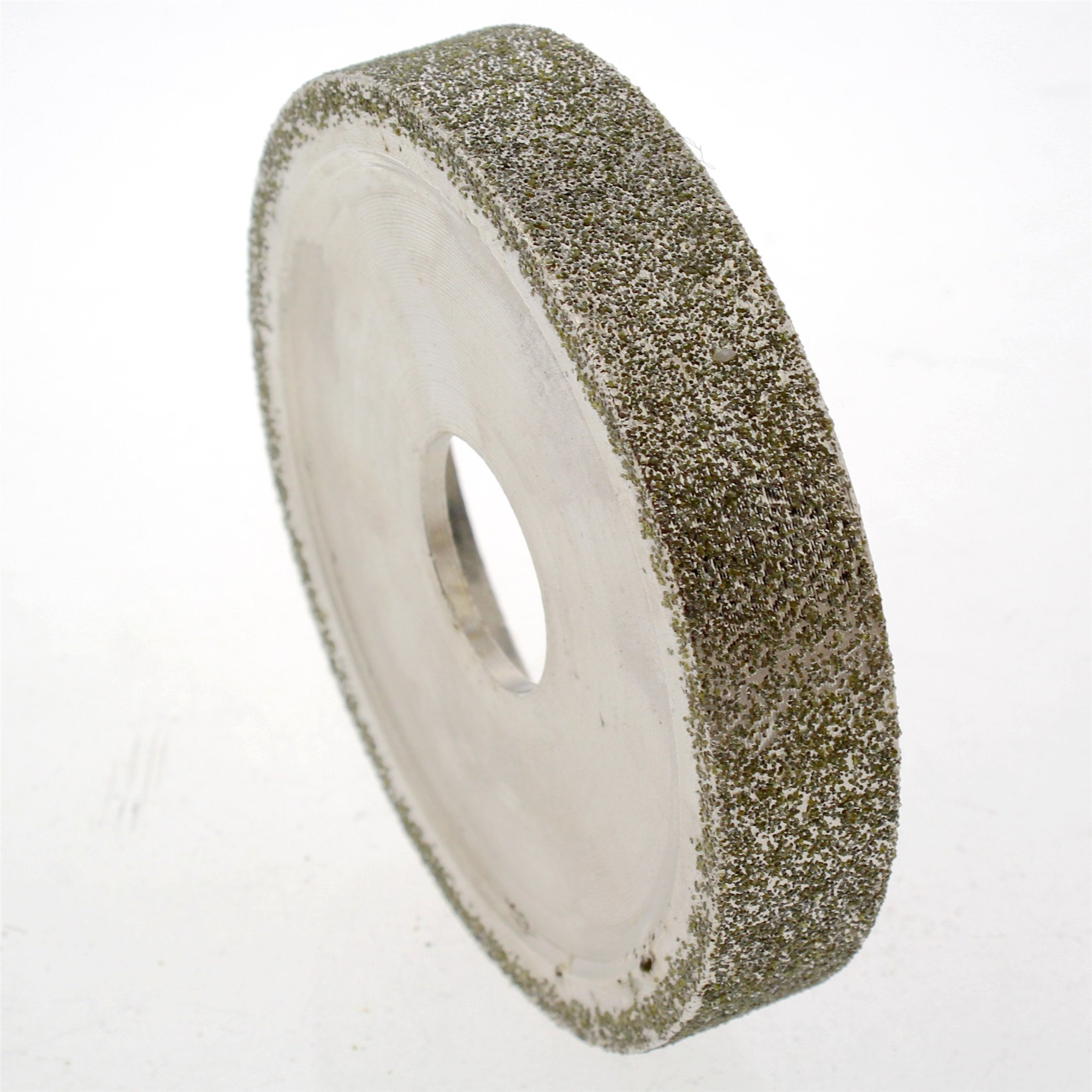ILOVETOOL 3'' inch 15mm Lapidary Electroplated Diamond Grinding Wheel for Angle Grinder Grit 80