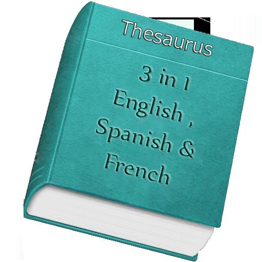 Offline Thesaurus Vocabulary 3 In 1