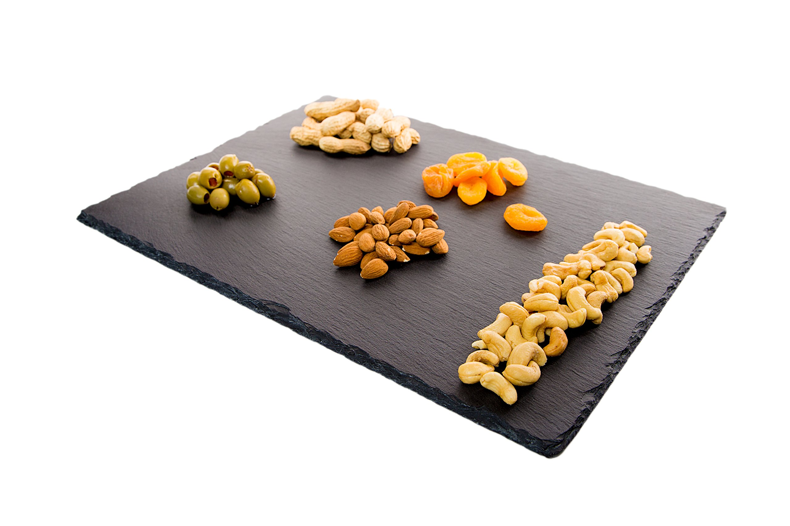 4 Sizes to Choose:  Large Stone Age Slate cheese boards (12''x16'' Serving Platter) with Soap Stone Chalk by Stone Age Slate (Image #4)