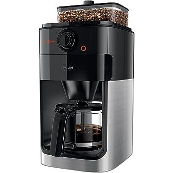 Auf der Suche nach einer Kaffeemaschine mit Mahlwerk werden Sie bei dem Hersteller Philips fündig.