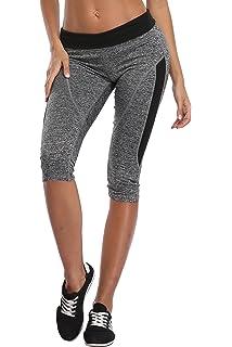 7961c3e64f 1stmall Women Yoga Capri Pants Fitness Leggings Running Gym Stretch Sports  Exercise Pants